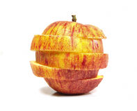 苹果红色 免版税库存图片