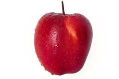 苹果红色solated 库存照片