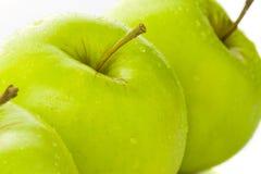 苹果绿化三 库存图片