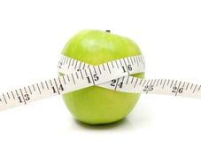 苹果绿的磁带 图库摄影
