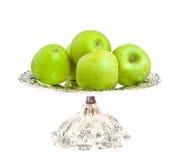 苹果绿色 库存图片