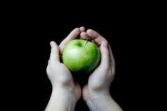 苹果绿 免版税图库摄影