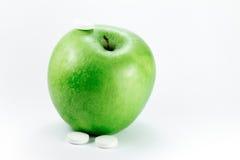 苹果老婆婆药片匠 免版税库存图片