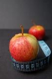 苹果节食 免版税库存图片