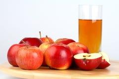 苹果苹果新鲜的汁 免版税库存照片