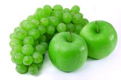 苹果葡萄空泡 免版税图库摄影