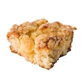 苹果蛋糕片 免版税库存图片