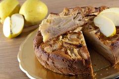 苹果蛋糕 图库摄影