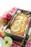 苹果蛋糕 库存图片