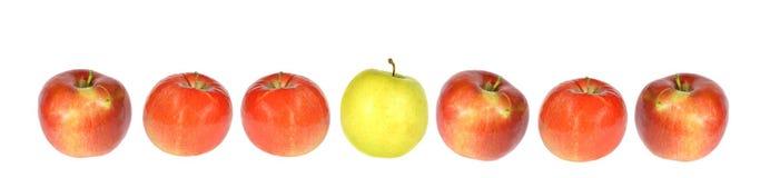 苹果行 库存图片