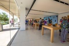 苹果计算机商店加利福尼亚 库存照片