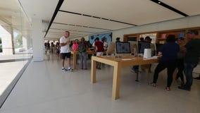 苹果计算机商店库比蒂诺 影视素材