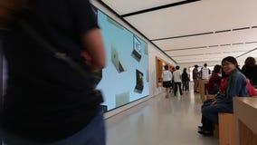 苹果计算机商店硅谷 影视素材