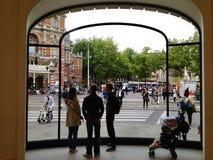 苹果计算机商店阿姆斯特丹 免版税库存照片