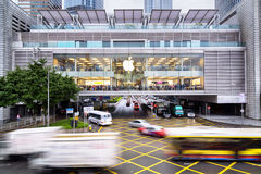 苹果计算机商店,香港 免版税库存照片