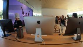苹果计算机商店iMacs 股票视频