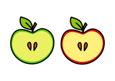 苹果计算机图画 免版税库存照片