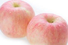 苹果计算机富士果子 库存图片