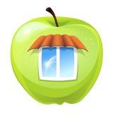 苹果计算机小屋 库存照片