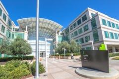 苹果计算机库比蒂诺硅谷 免版税图库摄影