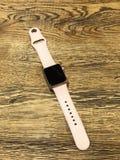 苹果计算机手表系列1 免版税库存图片