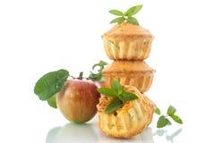 苹果计算机松饼 库存照片