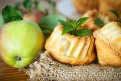 苹果计算机松饼 免版税图库摄影