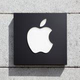 苹果计算机标志 免版税库存照片