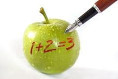 苹果计算机概念 免版税库存照片