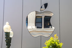 苹果计算机象标志 免版税图库摄影