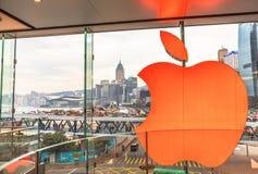 苹果计算机香港 图库摄影