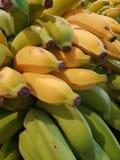 苹果计算机香蕉 免版税库存照片