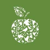 苹果计算机鸟 图库摄影