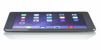 苹果计算机iPad空气多孔Wiâ€的` Fi+免版税图库摄影