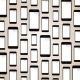 苹果计算机iPhone背景 免版税库存照片