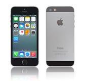 苹果计算机iphone 5s 图库摄影