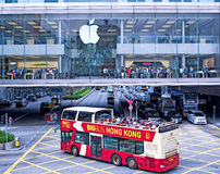 苹果计算机megastore在香港 库存照片