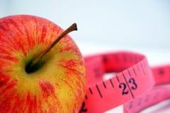 苹果评定磁带 免版税库存图片