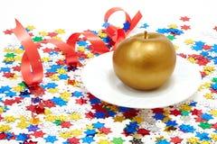 苹果金子 图库摄影