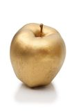 苹果金子 库存照片