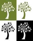 苹果集合结构树 免版税图库摄影