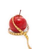 苹果饮食健康产品 免版税库存照片