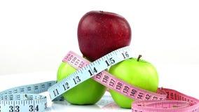 苹果饮食图象评定 股票视频