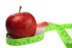 苹果饮食红色 免版税图库摄影