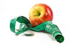 苹果饮食结转 库存图片