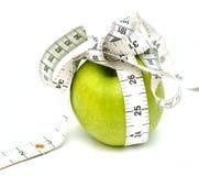 苹果饮食 免版税图库摄影