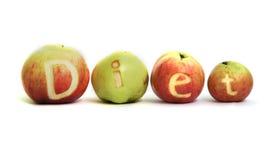 苹果饮食 库存图片