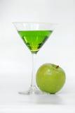 苹果马蒂尼鸡尾酒 库存图片