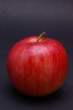 苹果黑色全部 免版税库存图片