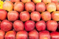 苹果,背景 免版税库存图片